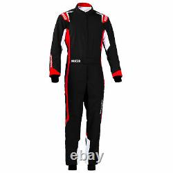 Sparco Thunder Go Kart Racing Suit, CIK FIA Level 2 Approved Children's Sizes