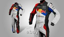 Sublimation Printed Kart Race Suit with free balaclava