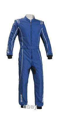 Suit SPARCO GROOVE KS-3 Karting KS3 Kart Race Overall Blue CIK FIA STOCK 21