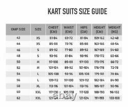 Tony Kart racing suit digital printed made to measure Level 2 karting suit