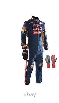 Toro Rosso kart race CIK/FIA level 2 suit (free gifts)