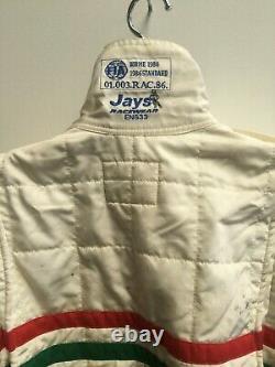 Vintage Jays 1986 Standard Nomex 111, Go-kart, Racing, Flame Resistant, Size 42
