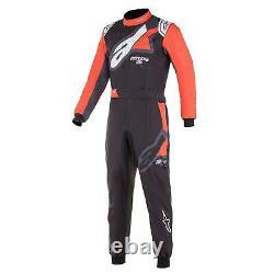3356221 Alpinestars 2021 Kmx-9 V2 Graphique Kart Suit Cik-fia Niveau 2 Karting Race