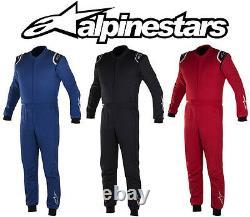 Alpinestars Delta Suit Fia 2-layer Racesuit Rally Toutes Les Couleurs Et Tailles Ue