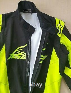 Alpinestars K-mx 9 Kart Race Suit Black Euro Taille 52 Cik-fia Niveau 2