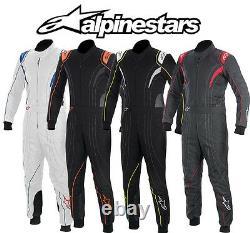Alpinestars Kmx-5 Karting Suit Pour Kart Racing & Autograss, Couleurs Diverses