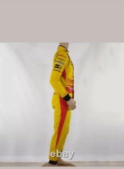 Aston Martin Racing Sparco Race Suit Yellow (ex Richie Stanaway) Sublimat