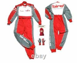 Birel 2013 Costume De Course Kart Cik/fia Niveau 2 (cadeaux Gratuits)