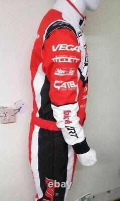 Birel Art Kart Racing Costume Numérique Imprimé Sur Mesure Niveau 2 Costume De Karting