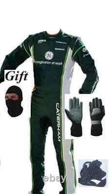 Caterham Kart Race Suit Kit Cik/fia Niveau 2 2014 Style (cadeaux Gratuits)