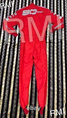 Charles F1 Printed Racing Suit 90 Years Go Kart/karting Race/racing Suit