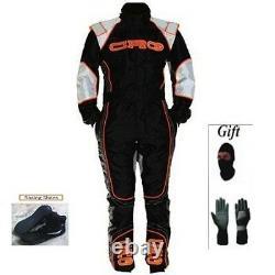 Combinaison De Course De Kart Crg Kit Cik/fia Niveau 2 2014 Style (cadeaux Gratuits)