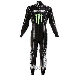 Combinaison De Course Monster Kart Costume De Course Aller Karting Costumes