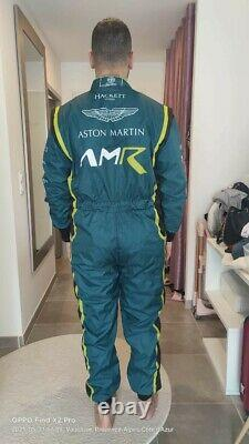 Costume De Course Aston Martin Kart Racing Suit Cik Fia Level II Approuvé