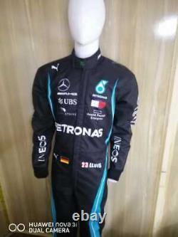 Costume De Course De Kart Petronas Imprimé Numérique Pour Mesurer Le Costume De Karting De Niveau 2