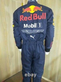 Costume De Course De Kart Redbull Imprimé Numérique Pour Mesurer Le Costume De Karting De Niveau 2