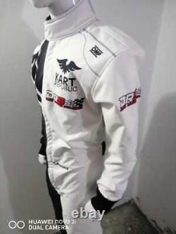 Costume De Course Kart Republic Imprimé Numérique Pour Mesurer Le Costume De Karting De Niveau 2