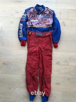 Costume De Course Karting Utilisé Nico Verdonck