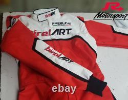 Costume De Karting / Combinaison De Course / Avec Gants De Course Kart & Chaussures Birel Art Sur Mesure