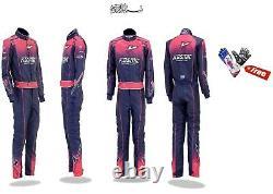 Costumes De Karting Pour Costume De Course Kosmic Avec Gants De Karting Gratuits Et Botte De Course