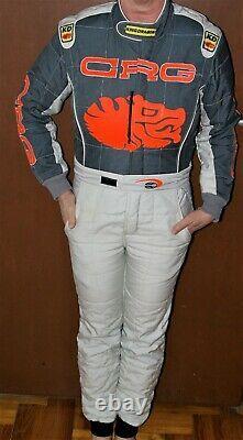 Crg Costume De Course Kart (global) Taille Junior (145 165 Cm) Cik-fia Homologue