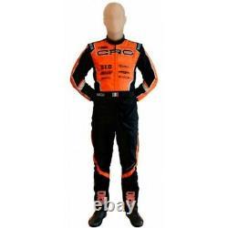 Crg Go Kart Race Suit Cik/fia Niveau 2 Approuvé Avec Des Cadeaux Gratuits Inclus