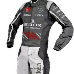 Edox Go Kart Race Costume Cik/fia Niveau 2 Approuvé Avec Des Cadeaux Gratuits Inclus