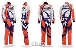 Exprit Costume De Course De Kart Avec Costume Balaclava Gratuit Sur Mesure - Toutes Les Tailles