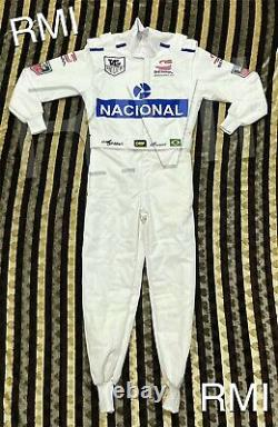 F1 Ayrton Senna 1993 Costume De Course Imprimé Go Kart/karting Race/racing Suit