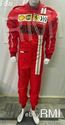 F1 Charles 2021 Style Imprimé Costume De Course Go Kart/karting