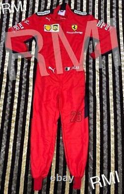 F1 Charles Printed Racing Suit Dernier Style Go Kart/karting Race/racing Suit