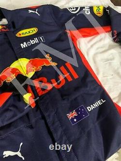 F1 Daniel Ricciardo Red Bull Costume Imprimé Go Kart/karting Race/racing Suit