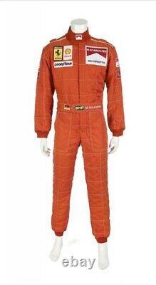 F1 Michael Schumacher 1996 Patchs Brodés Costume Go Kart / Karting Race Suit
