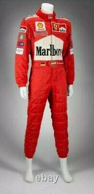 F1 Michael Schumacher 2001 Costume De Course Patchs Brodés, Dans Toutes Les Tailles