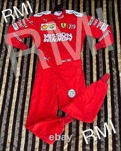 F1 Mission Winnow Charles Costume Imprimé /go Kart/karting Race/racing Suit