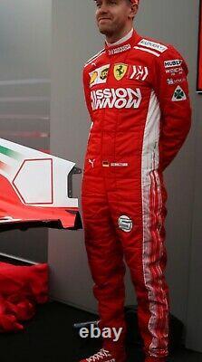 F1 Mission Winnow Sebestian Costume Imprimé /go Kart/karting Race/racing Suit