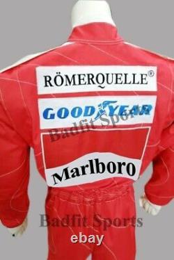 F1 Niki Lauda 1976 Réplique De Patchs Brodés Vont Costume De Course De Kart, En Toutes Les Tailles