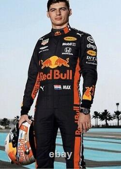 F1 Racing Max 2019 Style Redbull Costume Imprimé Go Kart/karting Race/racing Suit