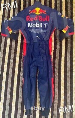 F1 Racing Max 2020 Style Redbull Costume Imprimé Go Kart/karting Race/racing Suit