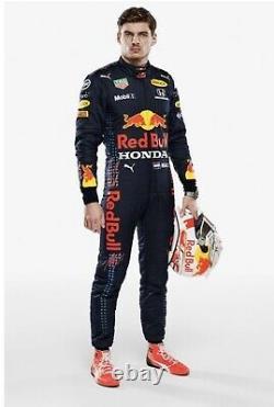 F1 Racing Max 2021 Style Redbull Imprimé Costume Go Kart/karting Race/racing Suit
