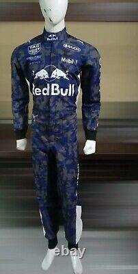 F1 Racing Redbull Imprimé Suit Go Kart/karting Course/racing Suit