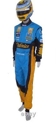 Fernando Alonso 2006 Costume De Course Imprimé Go Kart, En Toutes Tailles