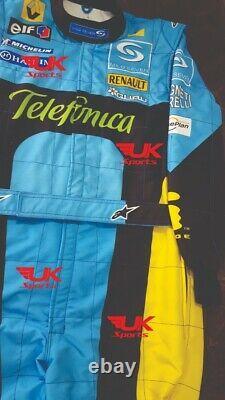 Fernando Alonso Costume De Course Imprimé 2006
