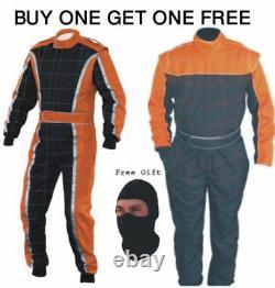 Go Kart Race Suit Buy One Get One Gratuit (cadeaux Gratuits Inclus)