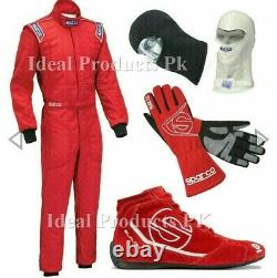 Go Kart Race Suit Cik Fia Niveau 2 Approuvé Avec Des Gants De Chaussures De Karting Et Un Cadeau