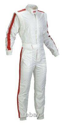 Go Kart Race Suit Cik Fia Niveau 2 Karting Suit Chaussures Gants & T-shirt & Cadeau