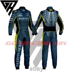 Go Kart Race Suit Cik Fia Niveau 2 Label Martin Wings Imprimé Hommes Femmes Taille Enfants