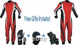 Go Kart Race Suit Cik/fia Niveau 2 (cadeaux Gratuits Inclus)