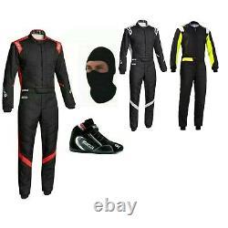 Go Kart Race Suit Kit Cik Fia Niveau 2 (cadeaux Gratuits Inclus)