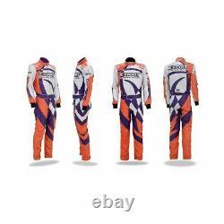Go Kart Race Suit, Kit Cik Fia Niveau 2 (cadeaux Gratuits Inclus) Exprit Nouveau
